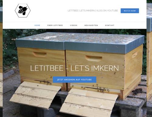 Letitbee hat eine Website